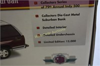 Indy 500 1995 Collectors Edition  Suburban Die