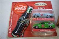Coca Cola Collectors Cars and Hot Wheels