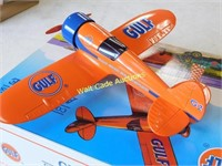 Gulf Airplane Bank - Number Two - Die Cast Bank