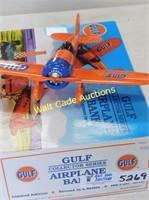 Gulf Airplane Bank - #2 - Die Cast Bank Gulf