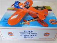 Gulf Airplane Bank - #2 - Die Cast Bank Gulf