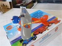 Gulf Airplane Bank - Number One - Die Cast Bank