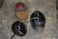 Motorcycle Helmets set of 3 - Fulmer Hombre DOT