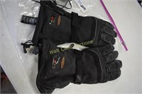 Harley Davidson Heated Gloves with Charger