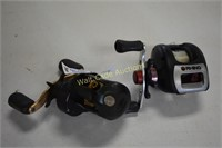 Fishing Reels lot of 2- Rhino and Bass Pro Shop