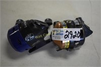 Fishing Reels lot of 2- Zebco and Bass Pro Shop