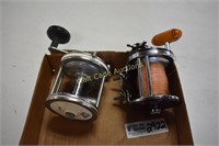 Fishing Reels Vintage lot of 2- Penn Jig-Masters