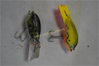 Fishing Lures Vintage lot of 7- Bomber Lures and