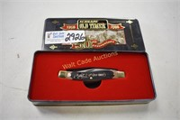 Old Timer Schrade 50th Anniversary Knife in Case