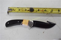 Knife Old Timer with Sheath Blade is