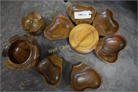 Serving Caddy/ Lazy Susan Wooden approximately