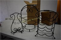 Kitchen Decor New In Boxes- Cookbook Stand, Wine