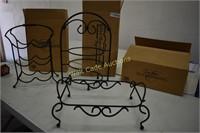Kitchen Decor New In Boxes- Wine Rack, Casserole