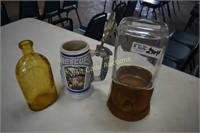 Beer Scone, Vintage  Peanut Dispenser and Old
