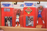 Starting  Lineup lot of 7 figurines Basketball