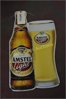 """Amstel Light ti sign approximately 24""""x13"""""""