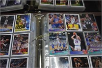Basketball Cards - Topps, Upper Deck 2 binders