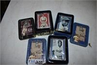 Baseball Metallica Impressions cards lot of 3