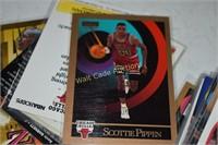 Football,  Basketball cards 4 small box lots full