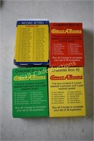 Baseball cards 4 box sets 1987 Fleer, 3- 1990