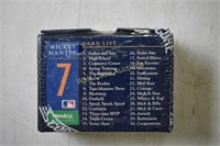 Mickey  Mantle Pinnacle  exclusive 30 card set