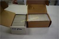 Sports card Collectors assortment 2 box lot of