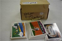 Nolan Ryan Cartoon Collectors cards lot
