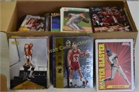 Sports Cards Collectors lot of unsorted 4 boxes
