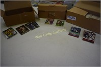 Sports Collectors Cards unsorted 3 box lot