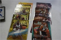 Hockey and Basketball Collectors cards unsorted 2