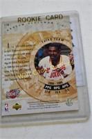 Hakeem Olajuwon Upper Deck Collectors Card Upper