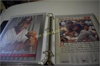 Baseball Portrait Collectors in Binder