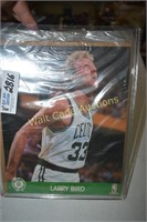 Larry Bird NBA Hoops Action Photo New in Package