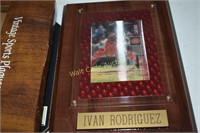 Baseball Vintage Sports Plaques lot of 4