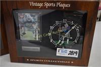 Sports Collectors Clocks set of 2 Juan Gonzales