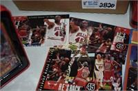 Michael Jordan Collection- Clock, Cards,Plaque