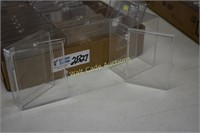 Plastic Boxes for Sports Cards lot