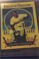 Frank Thomas Field of Dreams Plaque  with Card