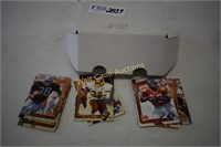 Football Collectors Cards 1991 Action Packed lot