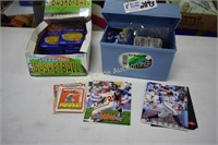 Sports Cards Collectors Assortment some unopened