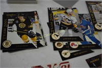 Hockey Cards in Case and 1997 Upper Deck Black