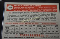 Mickey Mantle Collectors Card 1996 Topps