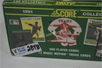 Baseball Cards unopened 1991 Score Collectors Set