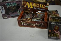 Magic The Gathering Cards Unopened with 4 boxes