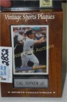 Call Ripken Jr. Vintage Sports Plaque