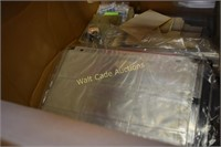 Card Protective Sheets and Protective Cases lot
