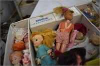 Skipper & Skooter Doll Case with Dolls and