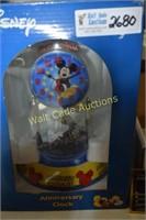 Clock Mickey Mouse  Anniversary Clock
