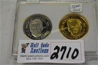 Coins Collectors Dave Brown and Kerry Collins set
