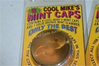 Mint Caps Cool Mike's 8 caps per pack large lot